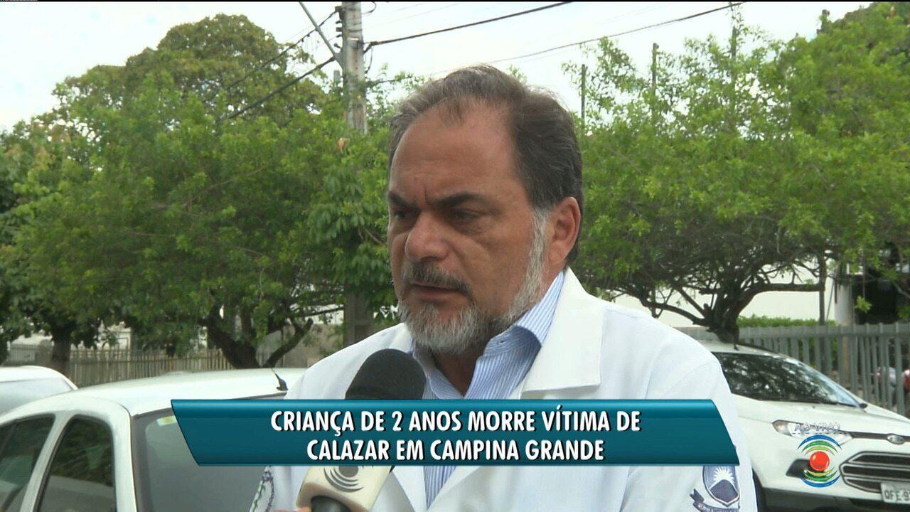 Criança morre vítima de leishmaniose em Campina Grande