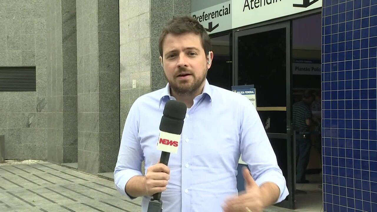 Joesley Batista presta depoimento na PF de São Paulo