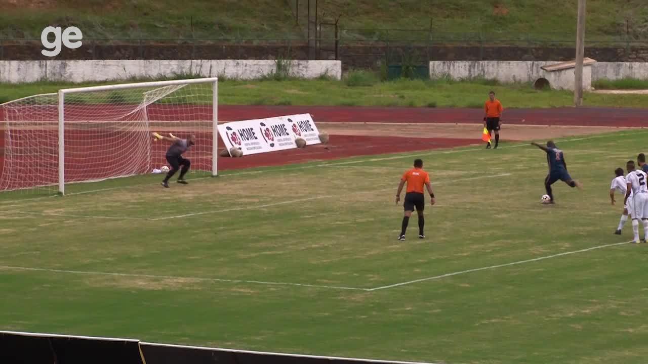 O gol de Sobradinho 0 x 1 Real pelo Campeonato Brasiliense 2018