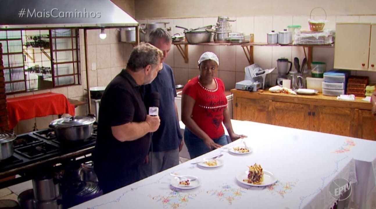 Fernando Kassab apresenta receita de torre de batatas