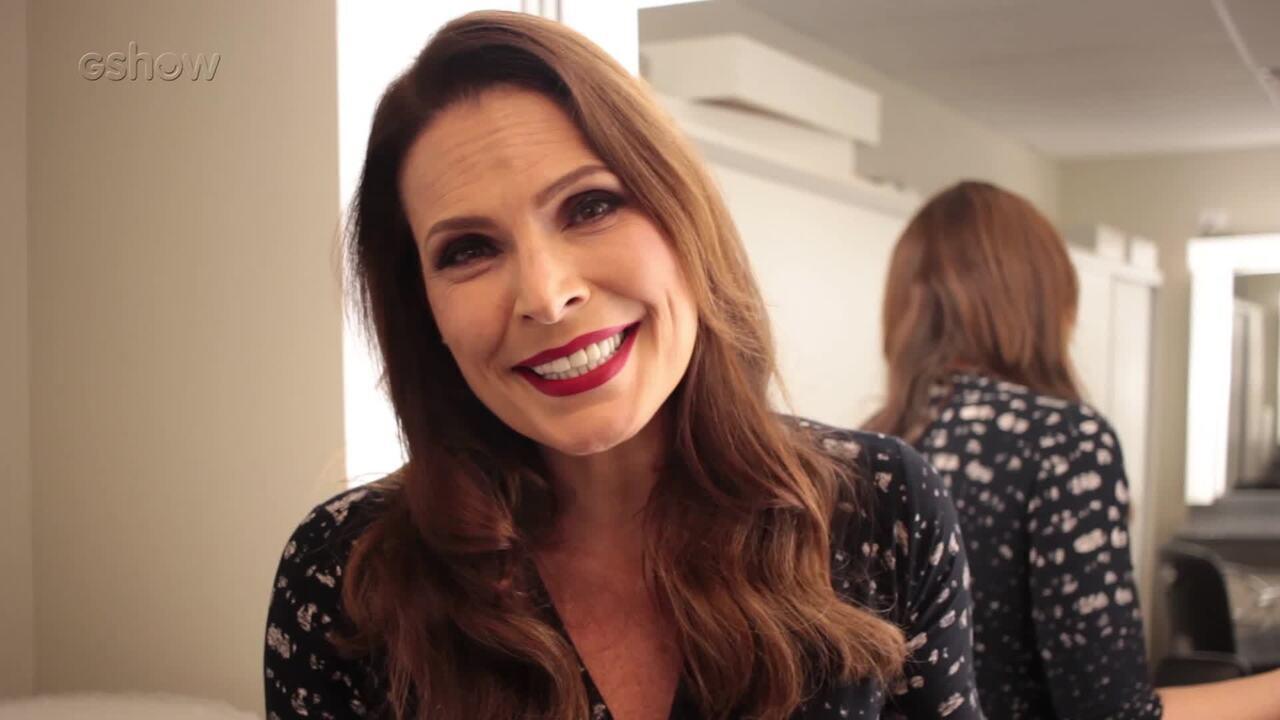 Laura Muller fala sobre nova temporada no 'Altas Horas' e revela que está namorando