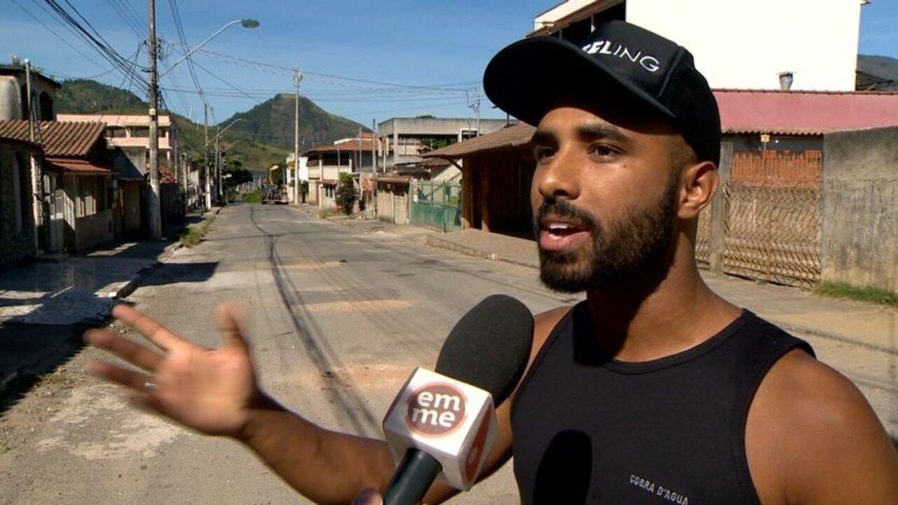 Em Movimento: Diego Araujo e Elielson Beans passeiam pelo Bairro Tabajara, Cariacica