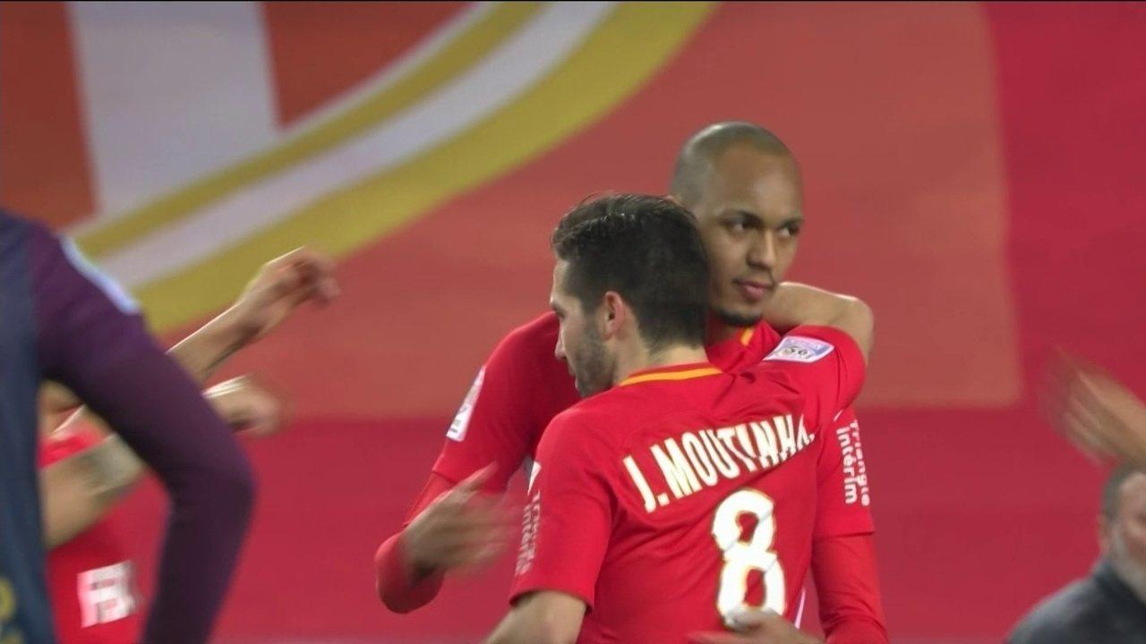 Os gols de Monaco 4 x 0 Dijon pela 26ª rodada do Campeonato Francês