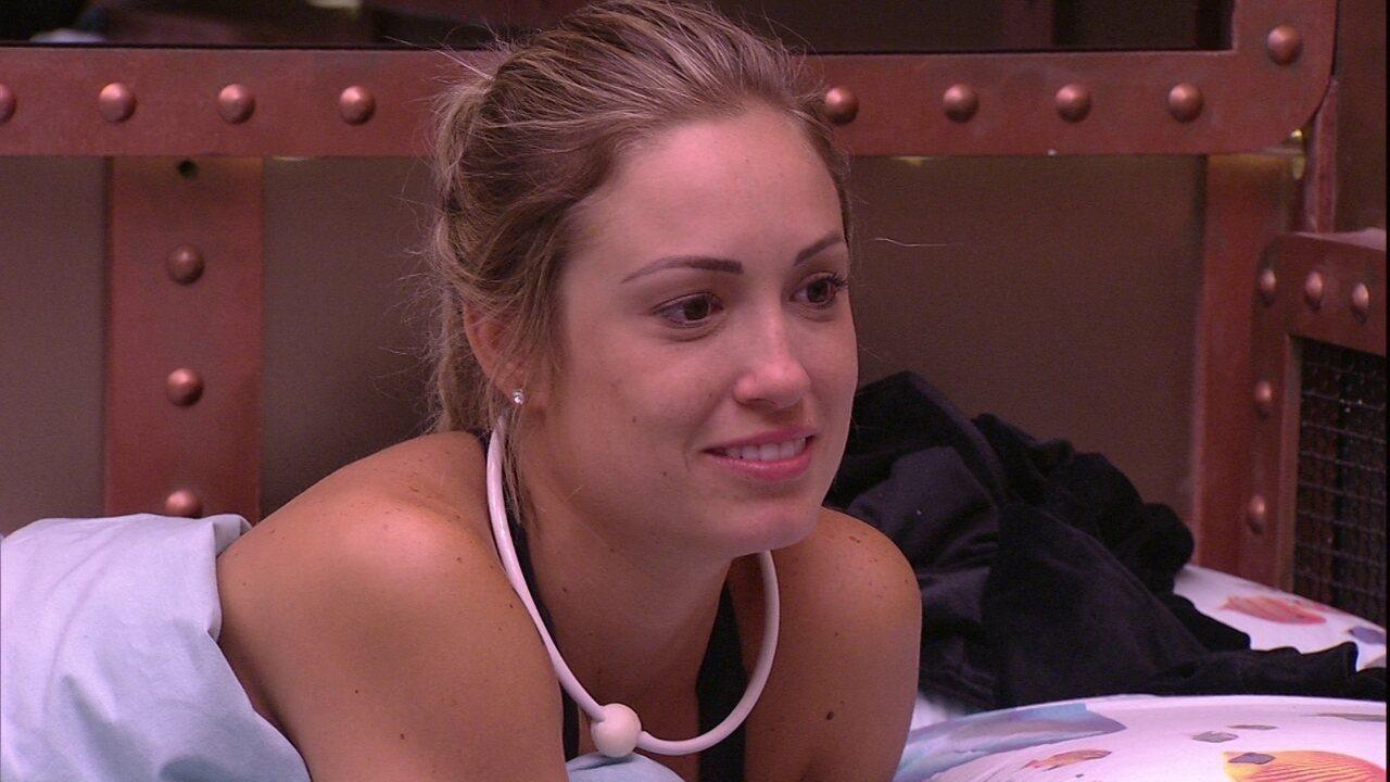 Jéssica brica com Lucas: 'Fui ignorada'