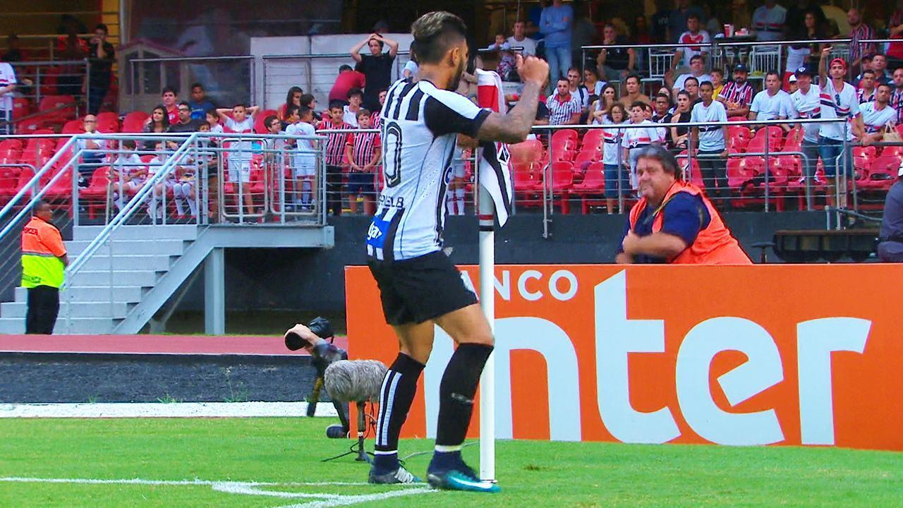 Melhores momentos: São Paulo 0 x 1 Santos pela 8ª rodada do Campeonato Paulista 2018