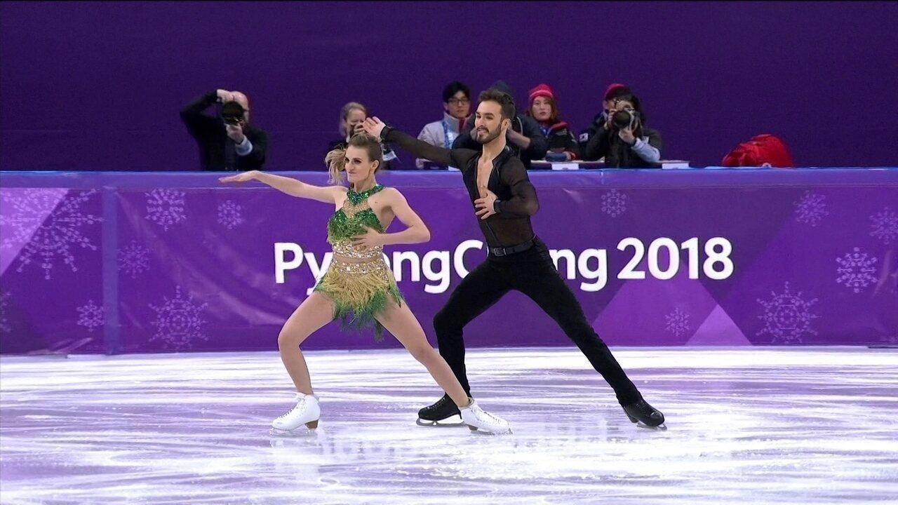 Confira apresentação da dupla francesa na Patinação Artística na Olimpíadas de Inverno