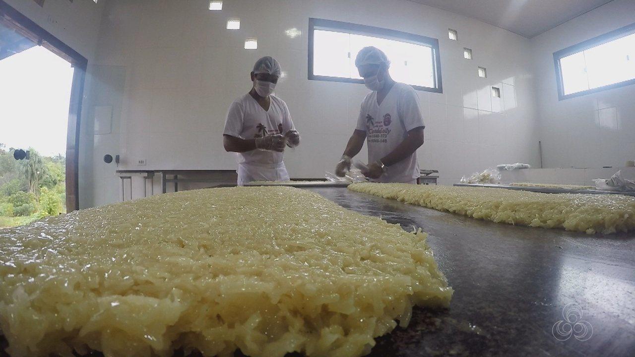 Família investe na produção de cocadas em assentamento