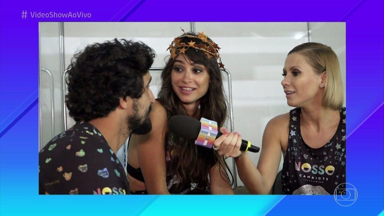 Thaila Ayala e Renato Góes falam do relacionamento