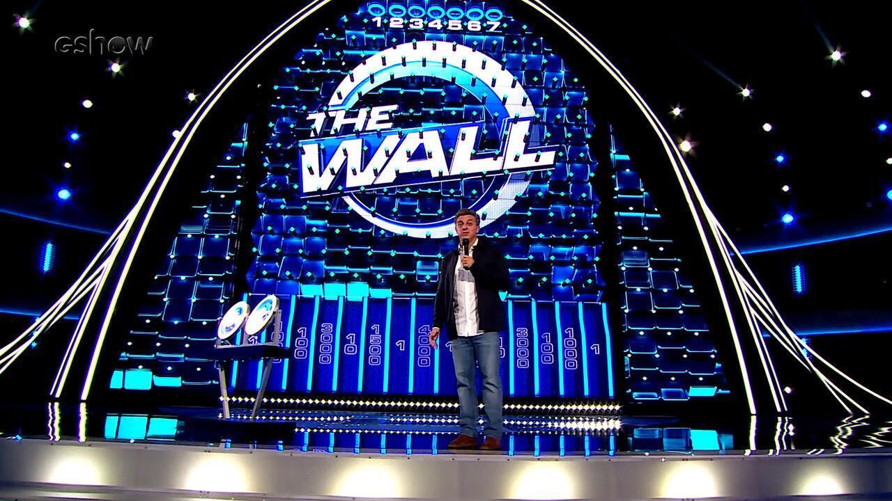 'Caldeirão do Huck' estreia novo quadro, o 'The Wall'