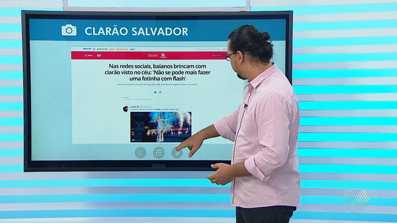 631349936022c Bahia Meio Dia – Salvador   G1 faz lista de memes criados por internautas  sobre o clarão visto na capital baiana   Globoplay
