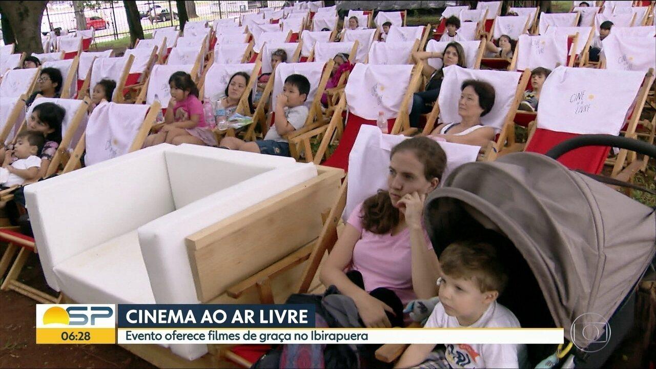 Veja dicas de filmes da semana; Ibirapuera tem primeira edição de cinema ao ar livre