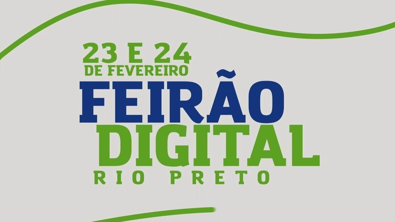 TV TEM realiza 'Feirão Digital' na cidade de Rio Preto