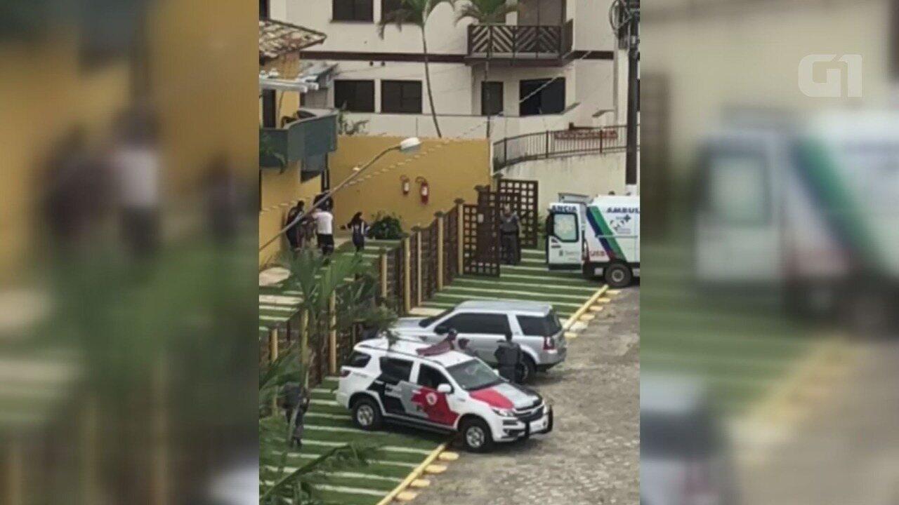 Investigador é restado após atacar policiais militares em Bertioga, SP