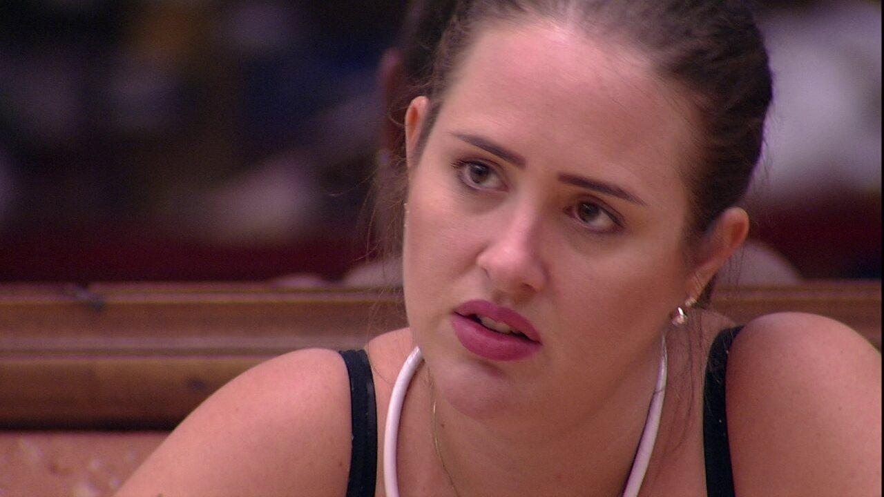 Patrícia desabafa: 'Eu estou com medo de eles mandarem o Diego'
