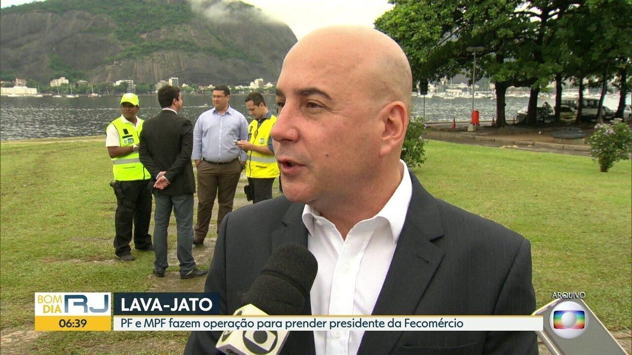 PF prende Orlando Diniz, presidente da Fecomércio