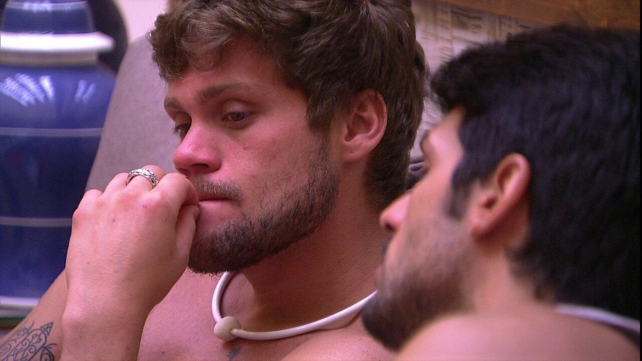 Lucas critica brothers: 'Sinto como se não houvesse verdade'
