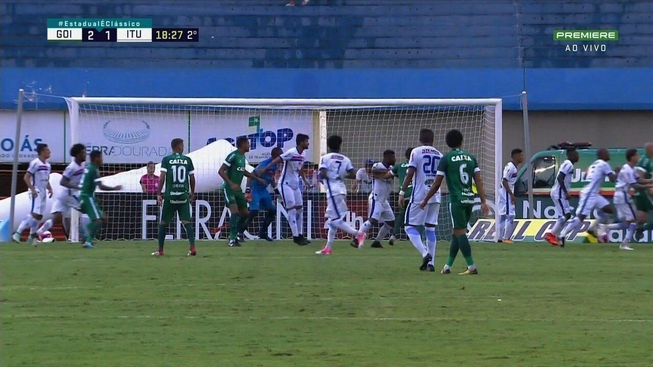 Os melhores momentos de Goiás 2x1 Itumbiara no Serra