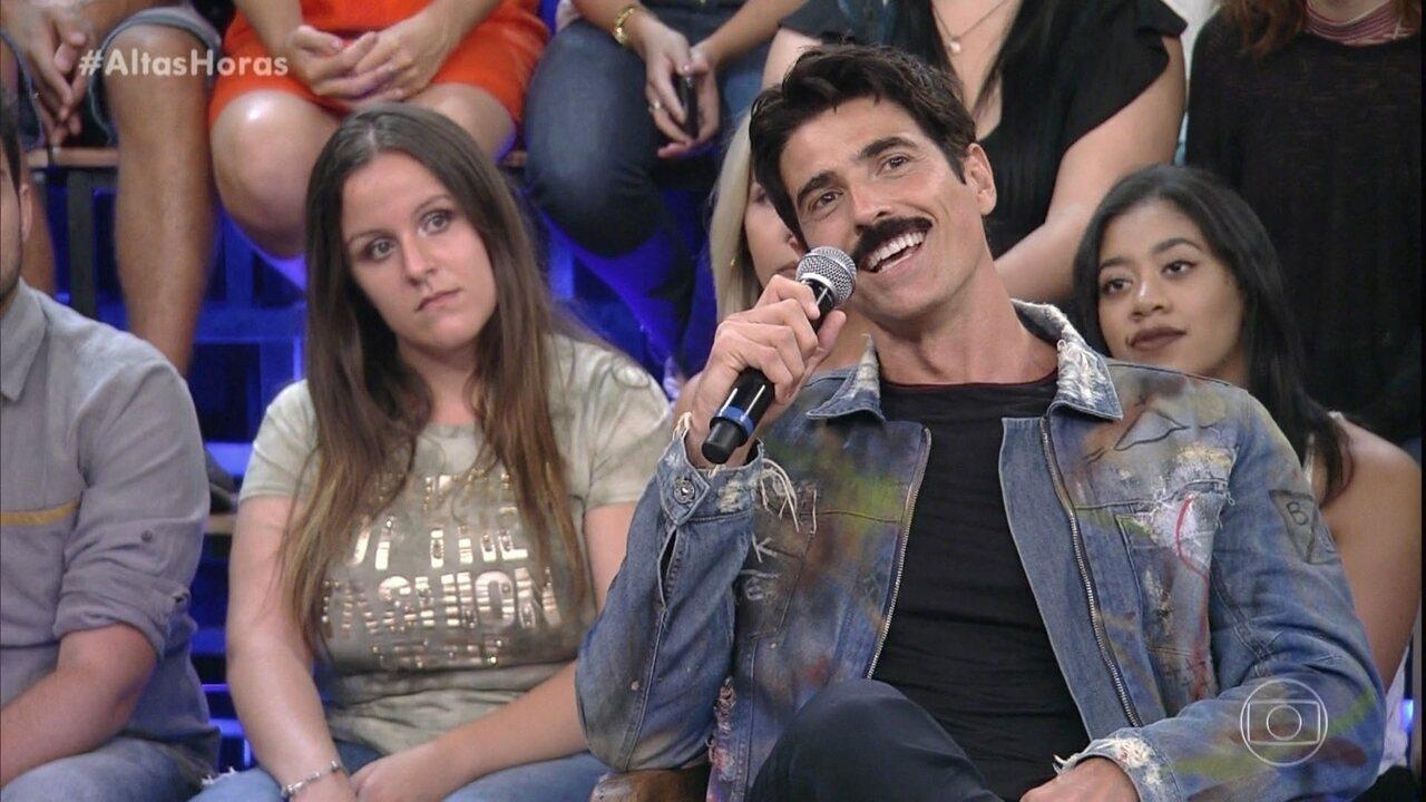 Reynaldo Gianecchini diz como é ser considerado um ótimo ator