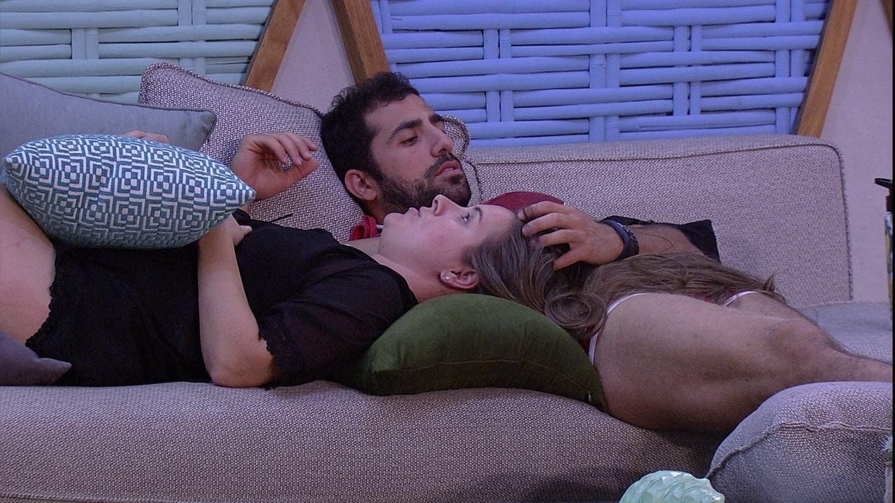 Patrícia cogita eliminação de Diego e avisa: 'Não confio em mais ninguém aqui'
