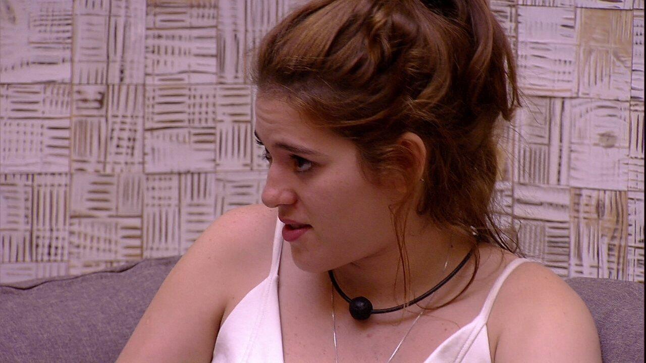 Ana Clara acredita: 'Não acho que a gente sai com muita rejeição'