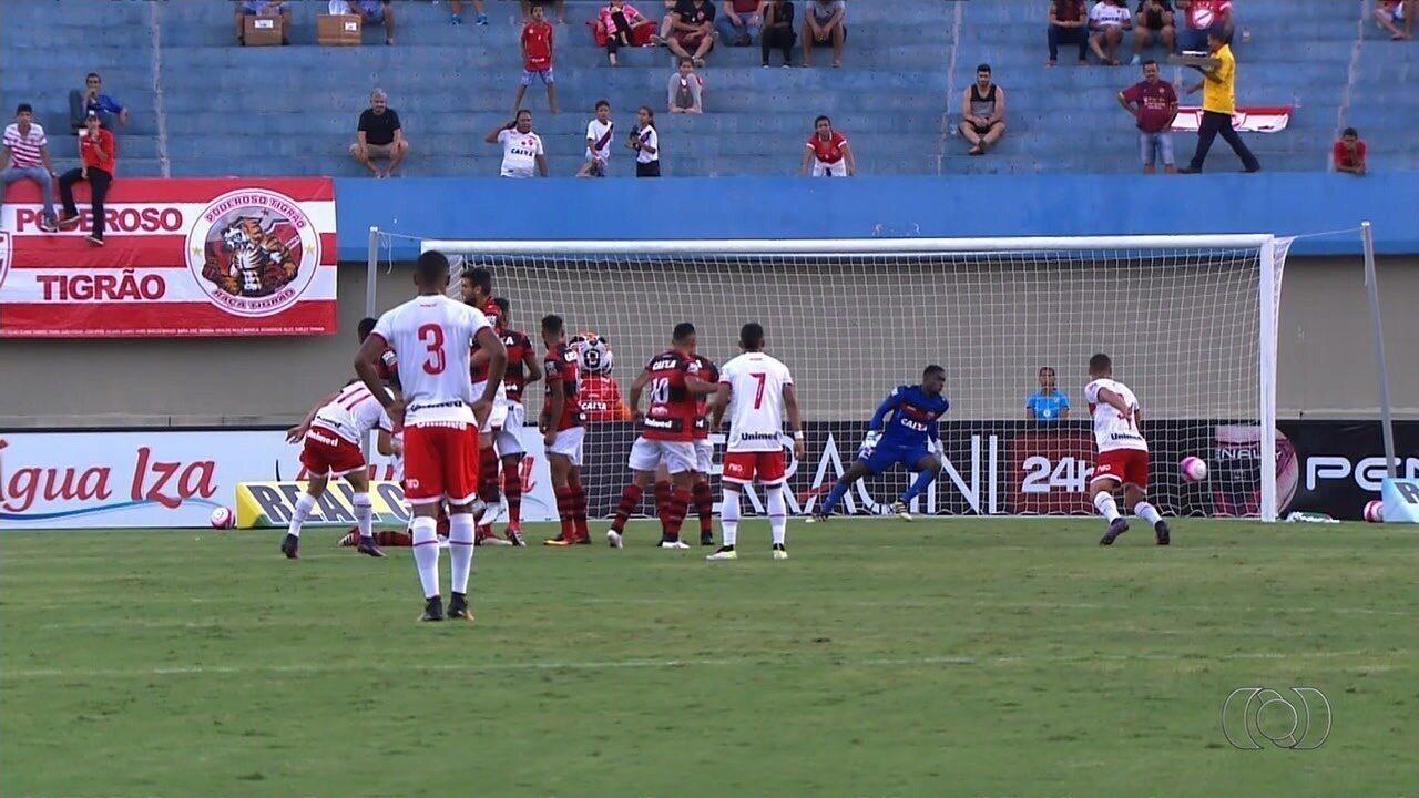 Atlético-GO 1x1 Vila Nova: os melhores momentos