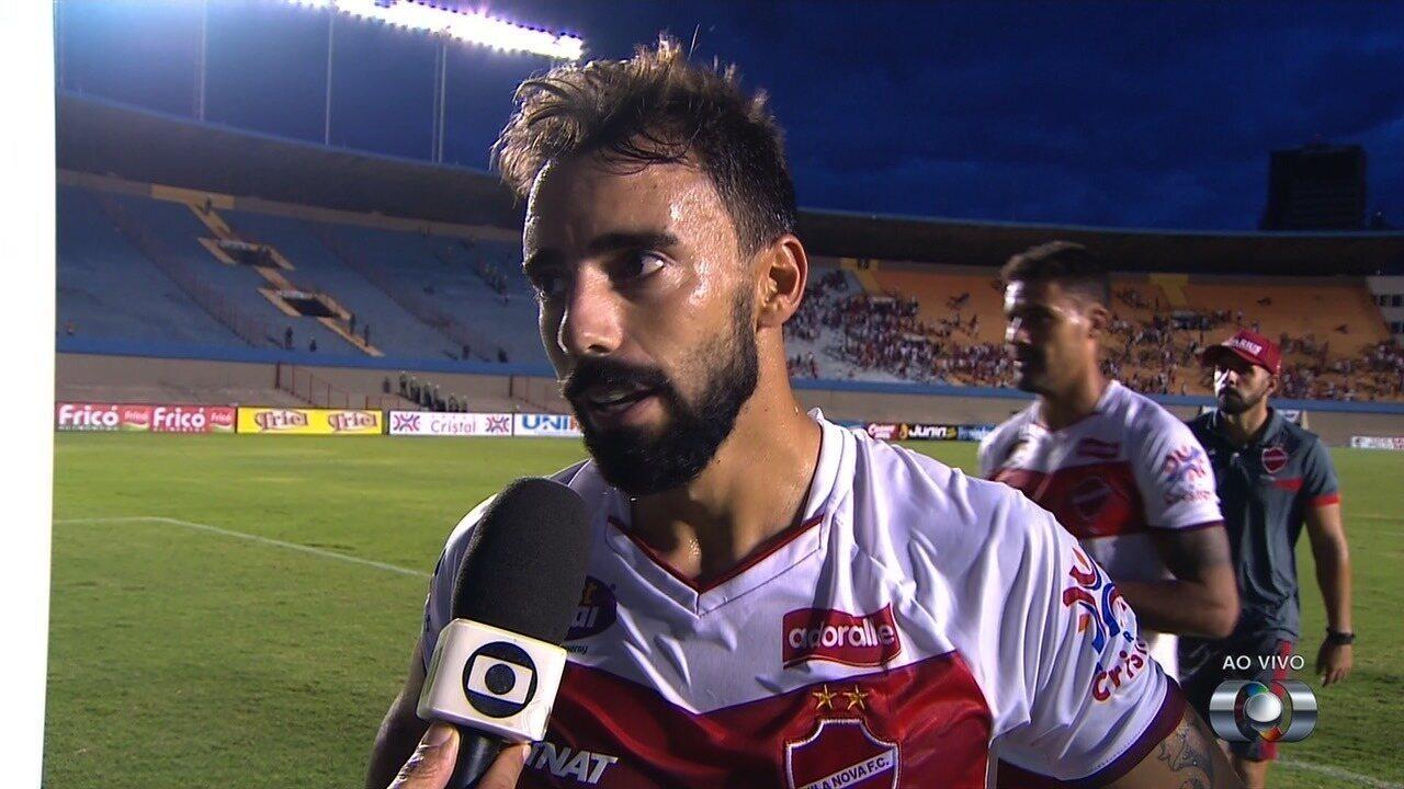 Gastón Filgueira valoriza garra do time colorado