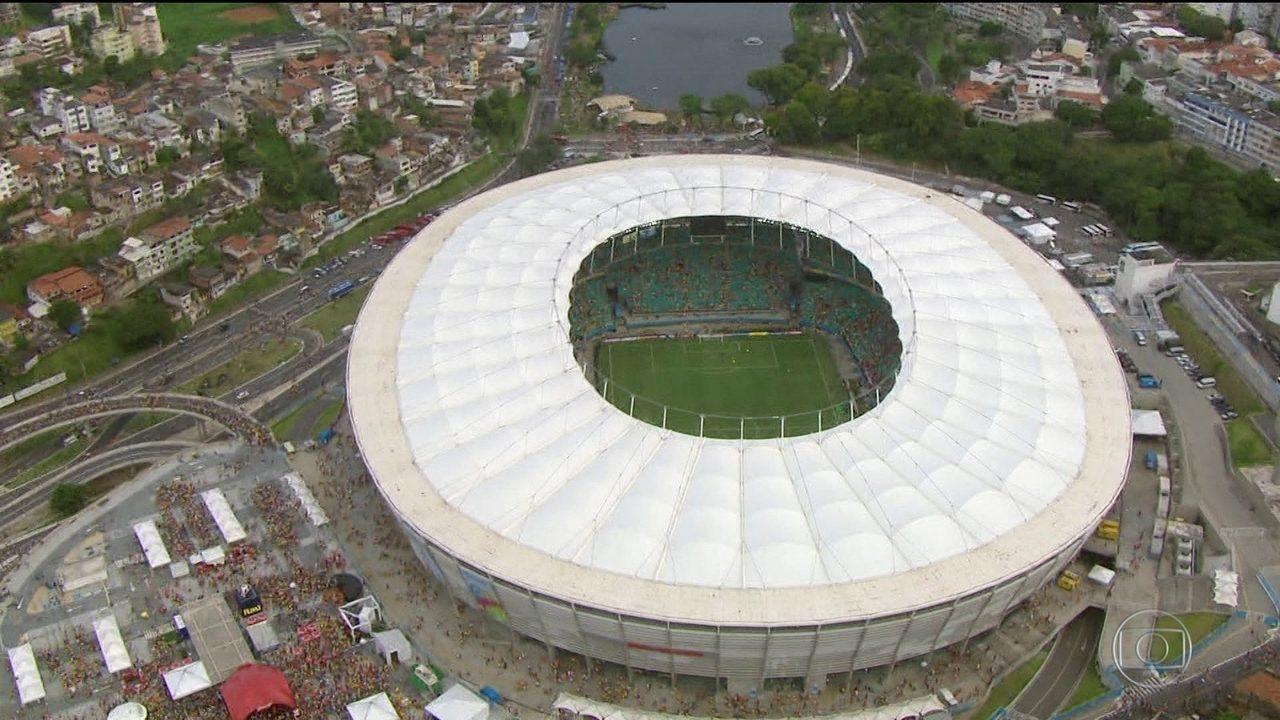 Polícia Federal faz operação contra irregularidades na Arena Fonte Nova (BA)