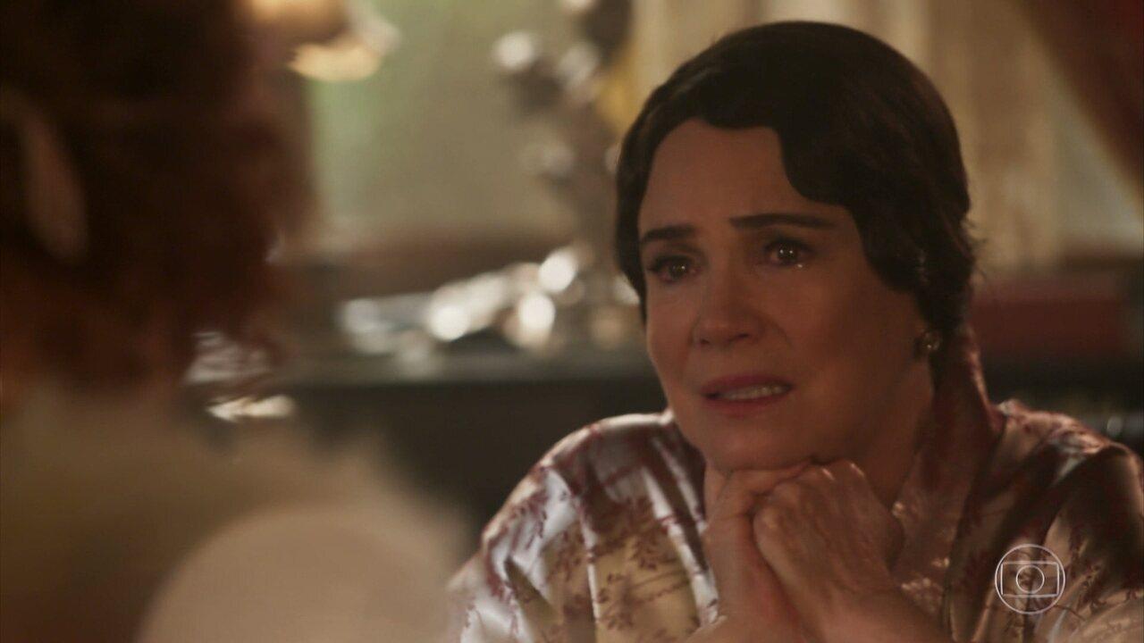 Lucerne conta a Gilberte sobre a perda de Cecília, sua filha