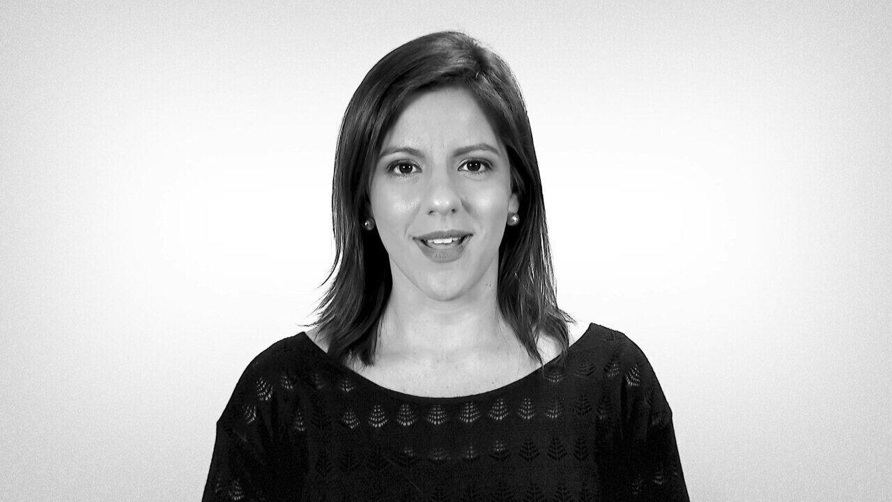 Camila Saenz participa de campanha da TV Integração