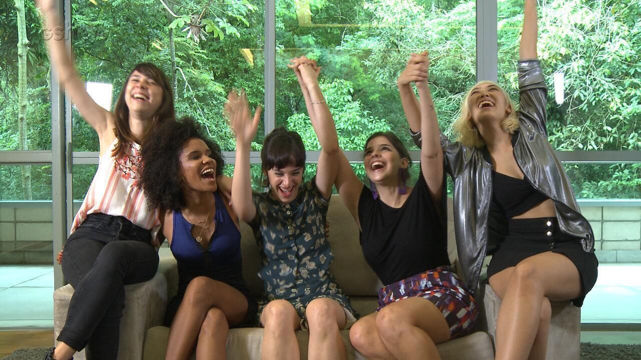 Vídeo exclusivo: atrizes de 'Malhação' comemoram amizade e relembram momentos marcantes nos bastidores