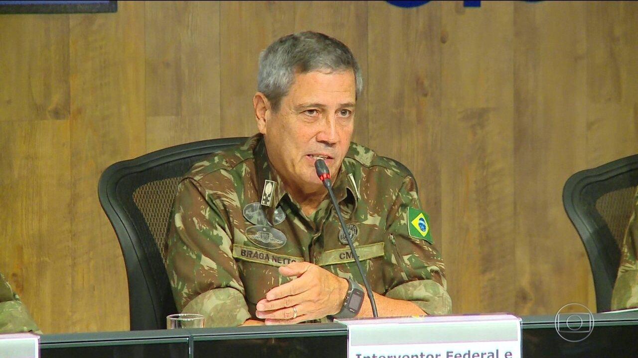 Combate à corrupção policial é prioridade, diz interventor no RJ