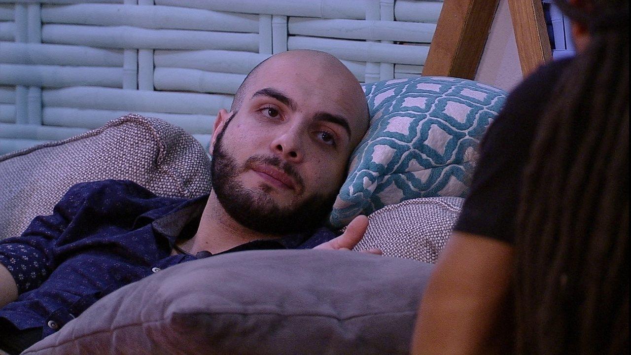 Mahmoud sobre o BBB18: 'Viver as emoções mas de um forma exagerada'