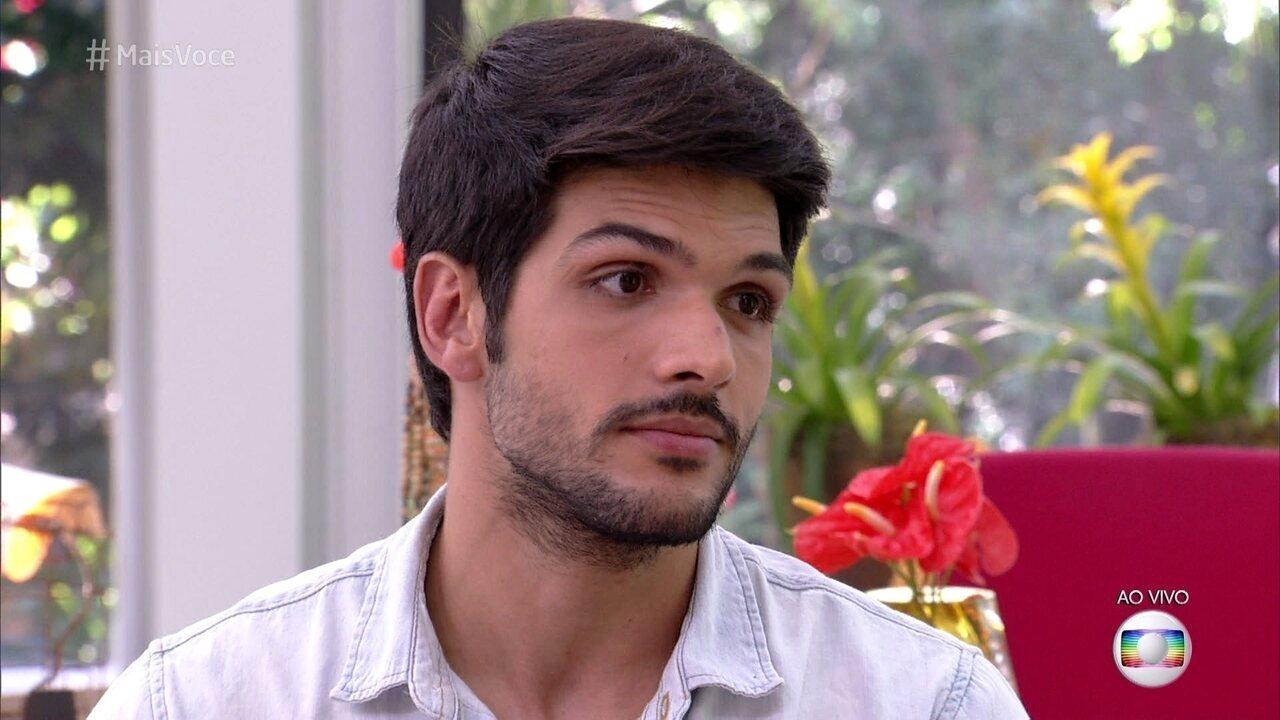 Lucas diz que seu erro foi não impor limites na relação com Jéssica