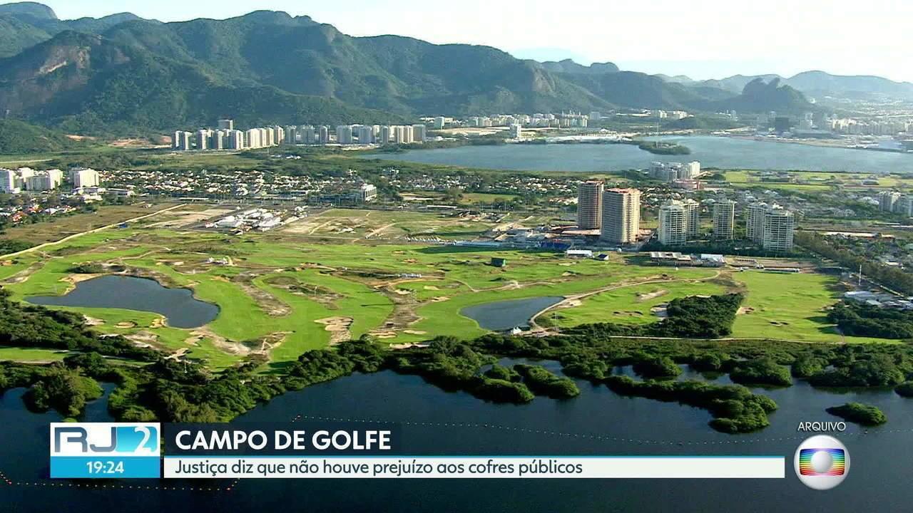 Justiça nega ação contra o ex-prefeito Eduardo Paes sobre o campo de golfe olímpico