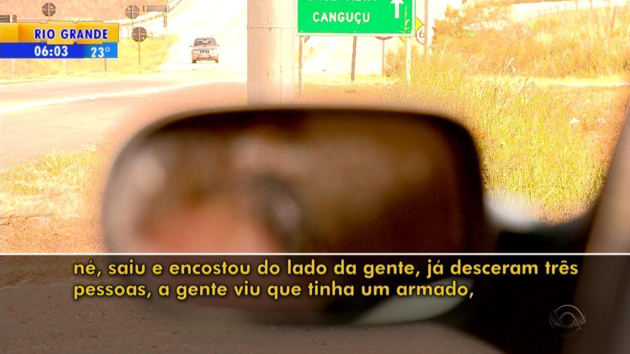 Motoristas relatam casos de violência na BR-392, em Morro Redondo