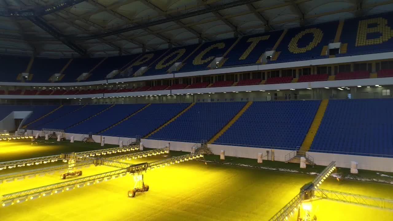 Fifa divulga imagens do Rostov-on-Don, estádio de estreia do Brasil na Copa