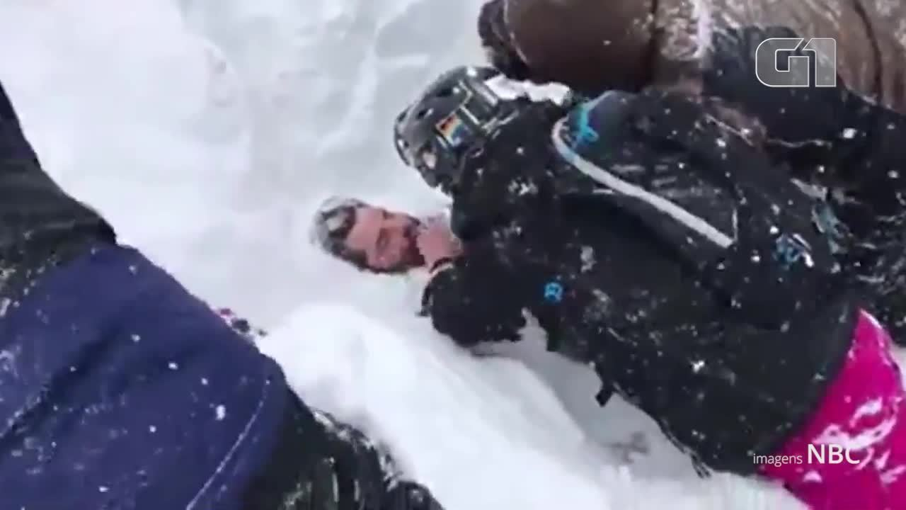 Cinco pessoas são resgatadas na estação de esqui Squaw Valley Ski Resort após avalanche na Califórnia