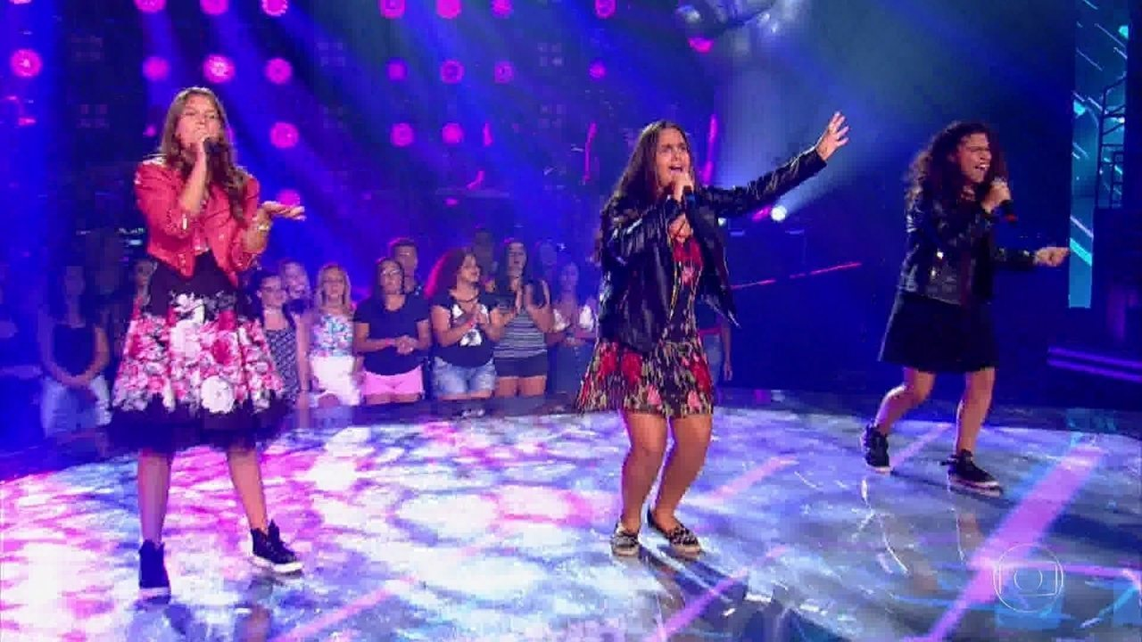 Eduarda Back, Livia Bernarde e Lúcia Muniz cantam 'Sorry Not Sorry'