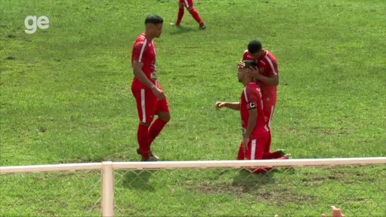 ASSISTA: debaixo de forte sol em Piripiri, 4 de Julho goleia o River-PI no Piauiense 2018; os gols