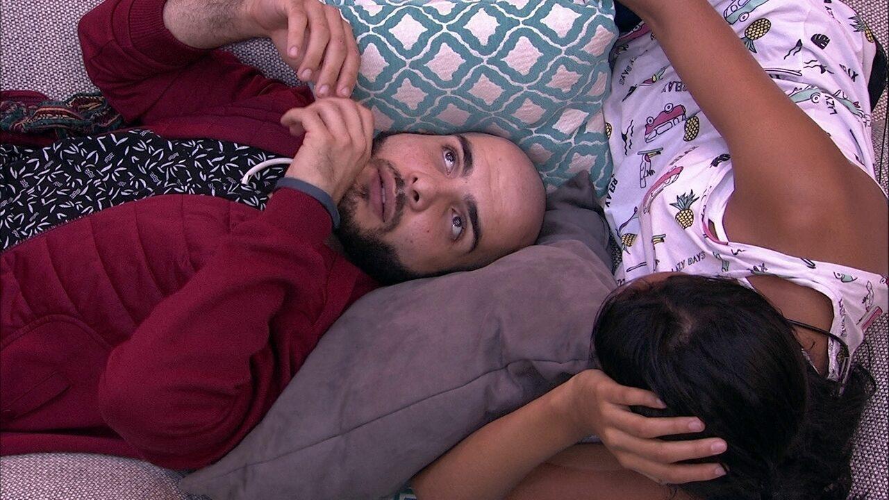 Mahmoud e Gleici especulam sobre voto de Kaysar