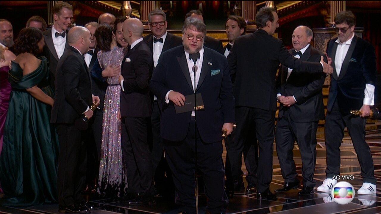 """""""A Forma da Água"""" ganha Oscar de melhor filme"""