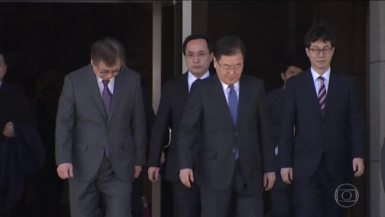 Seul envia equipe para conversas de paz na Coreia do Norte