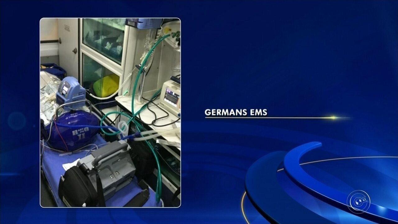 PM realiza transporte de bebê prematuro extremo para Hospital das Clínicas de Botucatu
