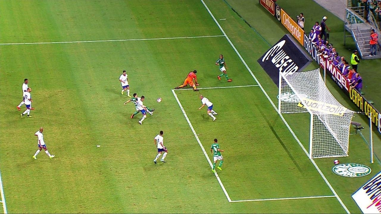 Melhores momentos: Palmeiras 0 x 1 São Caetano pela 10ª rodada do Campeonato Paulista