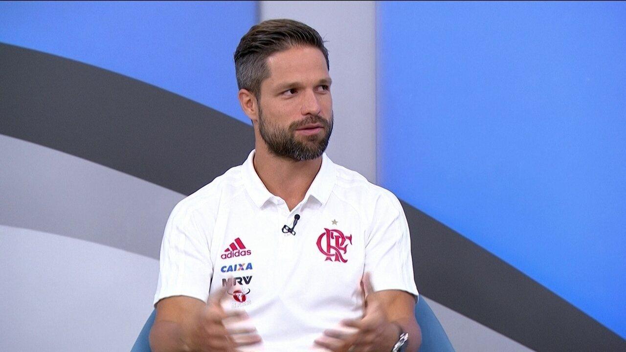 Mais sobre Diego falando de seleção brasileira