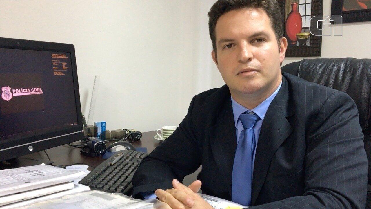 Delegado Janderson Lube fala sobre homicídios de mulheres no ES
