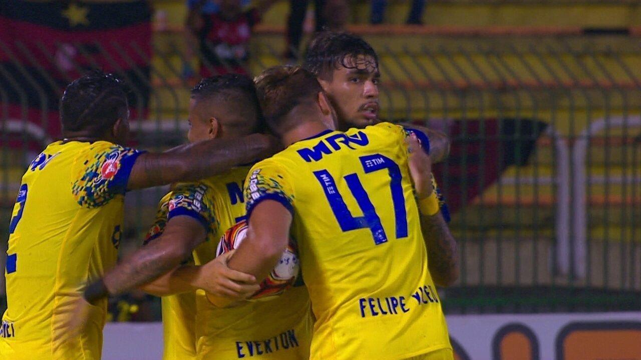 Os gols de Boavista 0 x 3 Flamengo pela 4ª rodada da Taça Rio 2018
