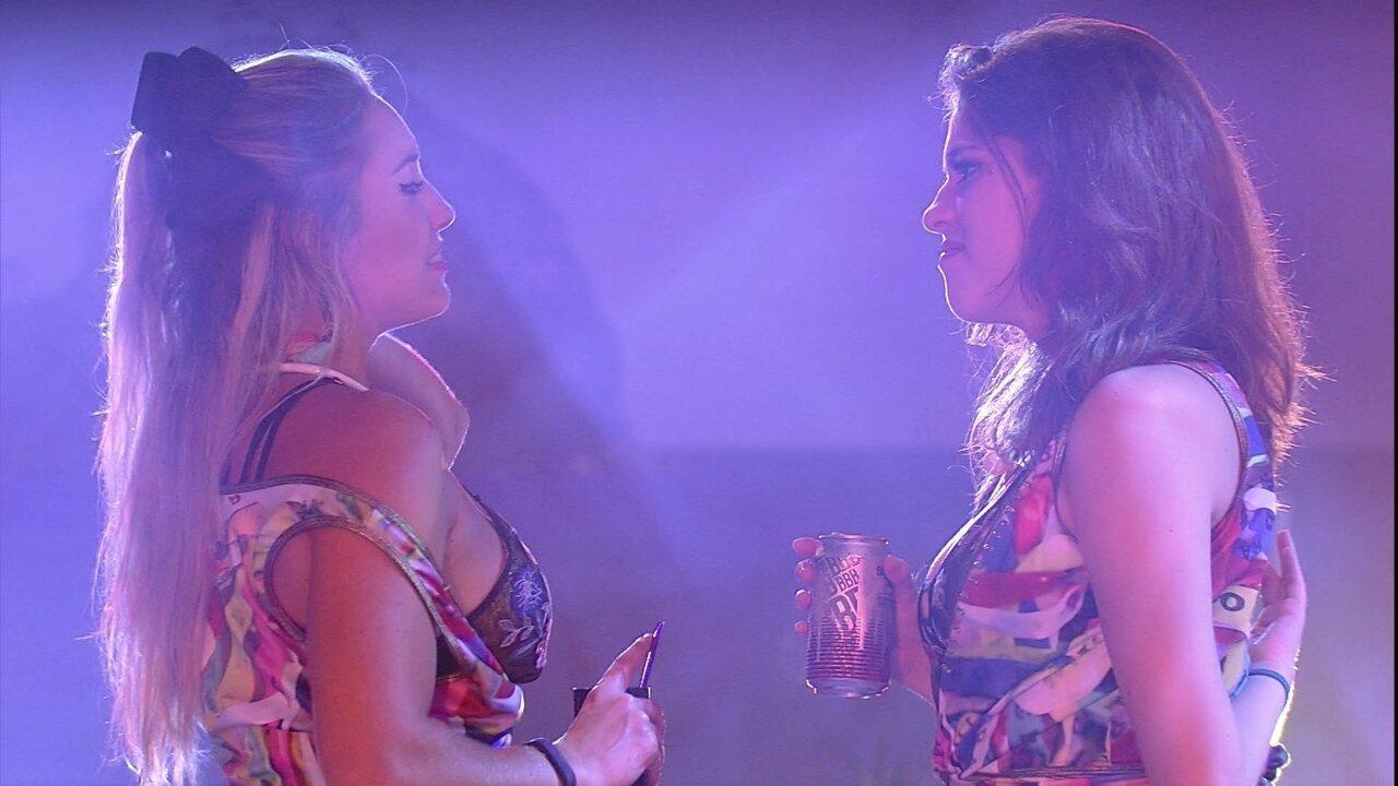 Ana Clara brinca com Jéssica e sister concorda: 'Você vai embora e não vai ter ninguém'