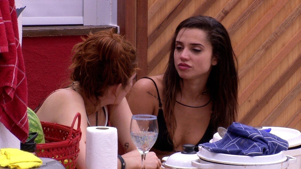 Paula afirma que brothers têm medo de Diego