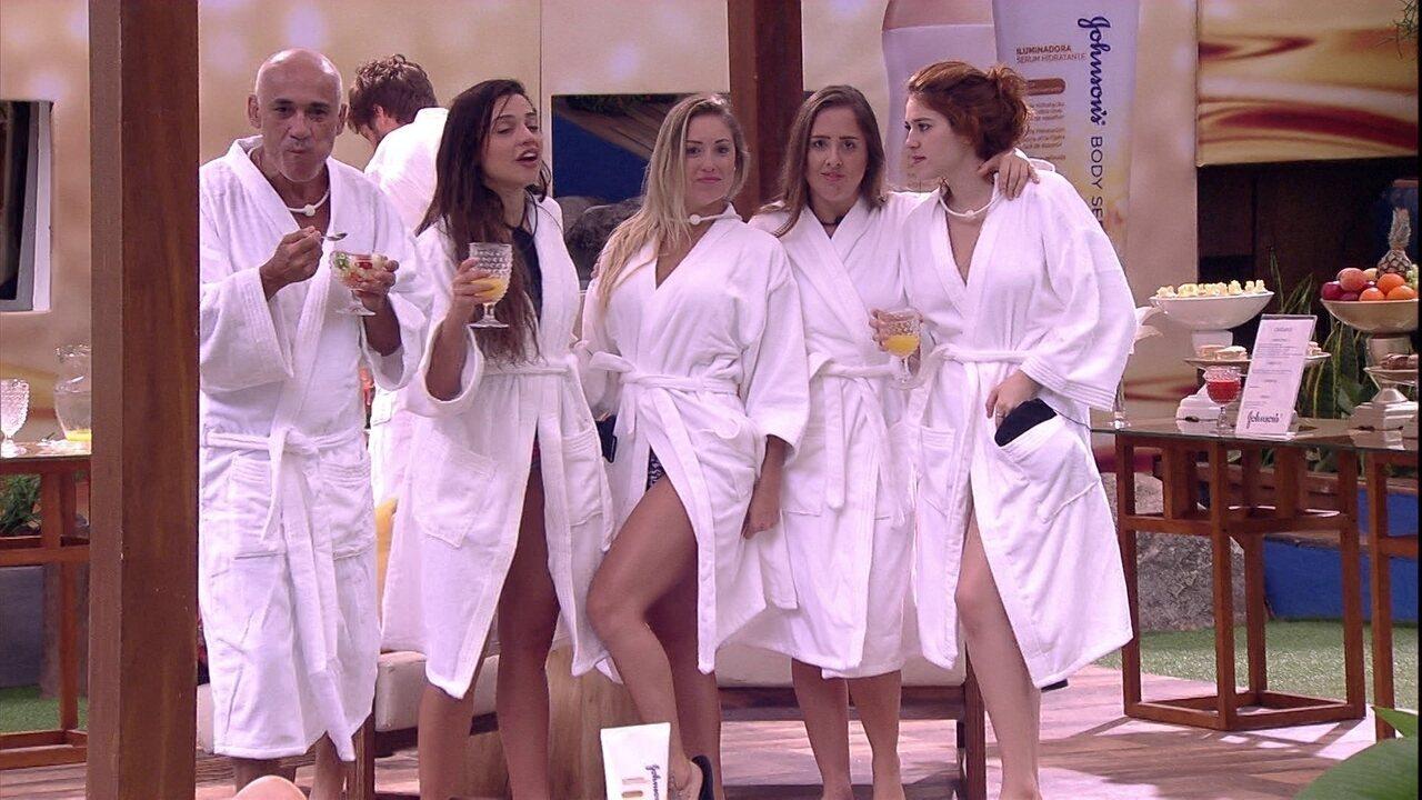 Jéssica fala para sisters: 'Que as mulheres do BBB fiquem até o finalzão'